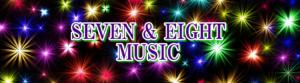 SEVEN & EIGHT MUSIC のサイトのヘッダースライダー画像。