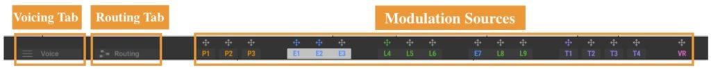 MASSIVE Xのナビゲーションバーの概要を説明する図